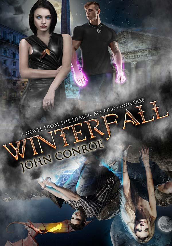 Winterfall by John Conroe
